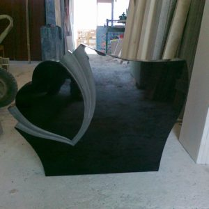 Siyah Granit Mezar Taşı
