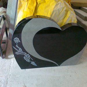 Siyah Granit Mezar Taşı Modelleri