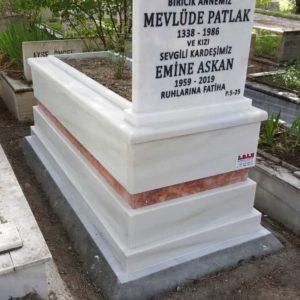 Beyaz Granit Mezar
