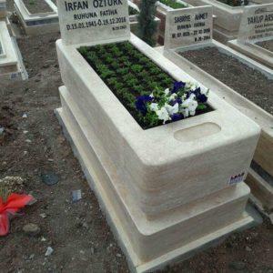 Ankara Traverten Mermer Mezar Bakımı Tamir