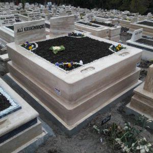 Ankara Traverten Mermer Mezar Bakımı Tamiri